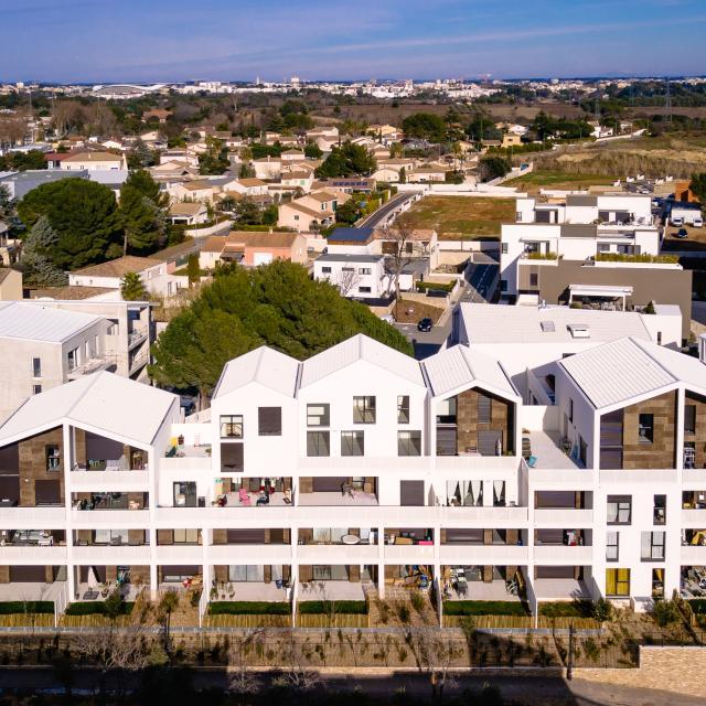 Gros œuvre Résidence Home Faktory Saint Jean de Védas logements collectifs
